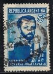 Sellos de America - Argentina -  Gen. Juan Galo de Lavalle (1797-1841).
