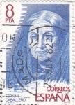 Stamps Spain -  FERNÁN CABALLERO - Personajes españoles  (U)