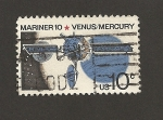 Stamps United States -  Nave espacial Mariner 10