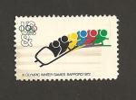 Stamps United States -  Juegos Olímpicos 1972 de Invierno