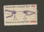 Stamps United States -  100 Aniv. del teléfono de G. Bell