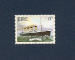 Stamps Europe - Ireland -  Barcos de Epoca  TITANIC