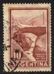 Sellos de America - Argentina -  PUENTE DEL INCA, MENDOZA.