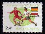 Sellos del Mundo : Europa : Hungría : 2601- Copa del mundo de fútbol Argentina 78