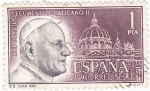 Sellos de Europa - España -  Concilio ecuménico Vaticano  1962 Juan XXIII (U)