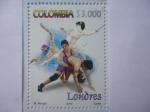 Sellos de America - Colombia -  Juegos Olímpicos de Londres 2012- (1de4)