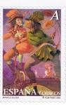 Stamps Spain -  Edifil  4137   El circo.