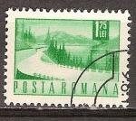 Sellos del Mundo : Europa : Rumania : Carretera de Lakeside(p).