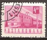 Sellos de Europa - Rumania -  Transp. y telecomu.-Tren eléctrico (p).