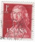 Sellos del Mundo : Europa : España : II Centenrio LEANDRO MORATÍN (U)