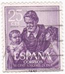 Stamps Spain -  III Centenario S.VICENTE DE PAUL(U)