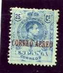 Stamps : Europe : Spain :  Alfonso XIII. Tipo medallón (Edifil 294)