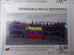 Stamps Venezuela -  Venezuela en la Antártida- 2ª Expedición 2009- (4de10)