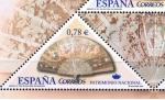 Sellos de Europa - España -  Edifil  4164 C  Patrimonio Nacional. Abanicos.