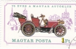 Stamps Hungary -  MERCEDES 1901