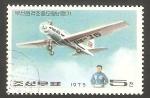 Stamps North Korea -  1348 - Avión