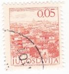 Sellos del Mundo : Europa : Yugoslavia : paisaje