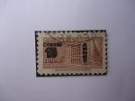 Stamps Colombia -  Palacio de Comunicaciones- Sobretasa para Construcción