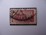 Sellos de America - Colombia -  Palacio de Comunicaciones- Sobretasa para Construcción
