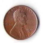 monedas de America - Estados Unidos -  A. LINCOLN - UNITED STATES OF AMERICA (CARA POSTERIOR)