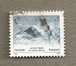 Stamps Asia - Nepal -  Monte Everest