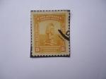 Sellos de America - Colombia -  Monumento Precolombino