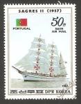 Stamps North Korea -  22 - Velero de Portugal