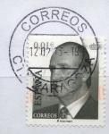 Stamps Spain -  ESPAÑA 2002_3857 S.M. DON JUAN CARLOS I. SERIE BASICA