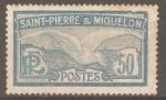 Stamps San Pierre & Miquelon -  PETREL  GLACIAL
