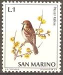 Sellos de Europa - San Marino -  GORRIÒN
