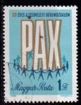 Sellos de Europa - Hungría -  2055- 20º aniv. Movimiento de la Paz