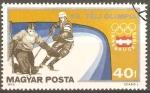 Stamps Hungary -  JUEGOS  OLÌMPICOS  DE  INVIERNO  HOCKEY  SOBRE  HIELO