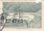 Sellos de America - Chile -  Central Hidroelectrica de Rapel