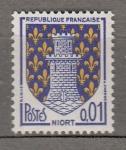 Sellos de Europa - Francia -  Escudo Niort (80)
