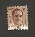 Stamps India -  Rajiv Gandhi
