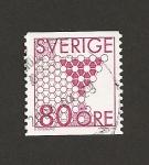 Sellos de Europa - Suecia -  Panal