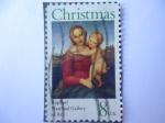 Sellos de America - Estados Unidos -  Navidad- Raphael, Natonal Gallery of Art.