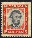 Stamps Nicaragua -  Abraham Lincoln