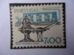 Stamps Portugal -  Rotativa y Prensa Tipográfica manual