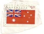 Stamps Oceania - Australia -  bandera buques mercantes