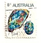 Stamps : Oceania : Australia :  Opalo