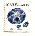 Stamps : Oceania : Australia :  Zafiro