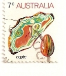 Sellos de Oceania - Australia -  Agata