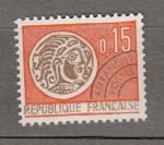 Sellos del Mundo : Europa : Francia : Moneda (10)