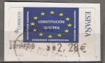Sellos de Europa - España -  2005.1 Constitucion Europea (802)
