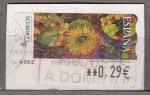Sellos de Europa - España -  2005.8 Frutas y Girasol (809)