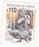 Stamps Chile -  MITOLOGÍA DE CHILOE