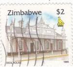 Stamps Zimbabwe -  Cecilhouse