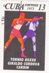 Sellos de America - Cuba -  Torneo Boxéo GIRALDO CORDOVA CARDIN