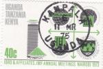 Sellos de Africa - Uganda -  Afiliación UGANDA-TANZANIA, KENYA